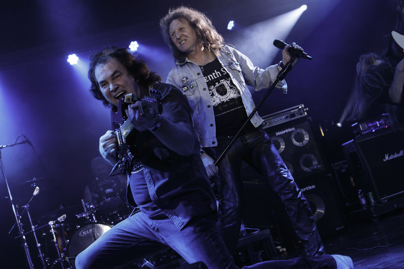 OLIVER'S ARMY - Giants Of Rock, Minehead, Somerset, 29-31 January 2016