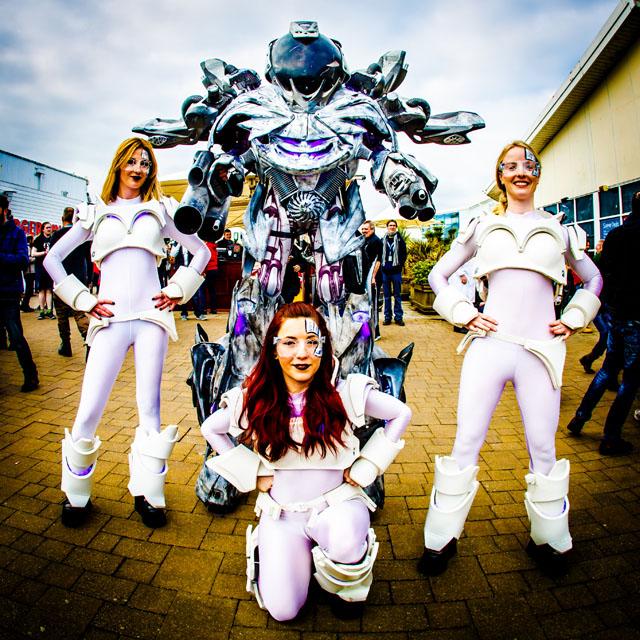 Sci-Fi - HRH Prog - Pwllheli, Wales, 17-20 March 2016