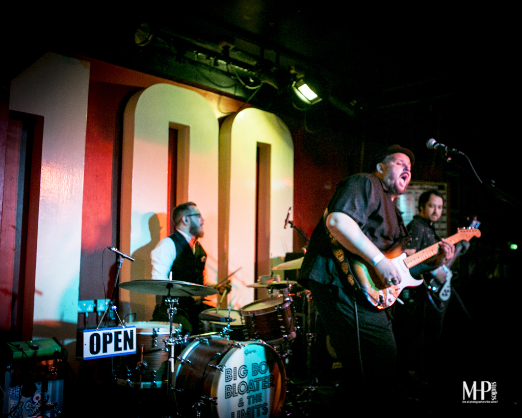 BIG BOY BLOATER & THE LIMITS – 100 Club, London, 15 May 2016
