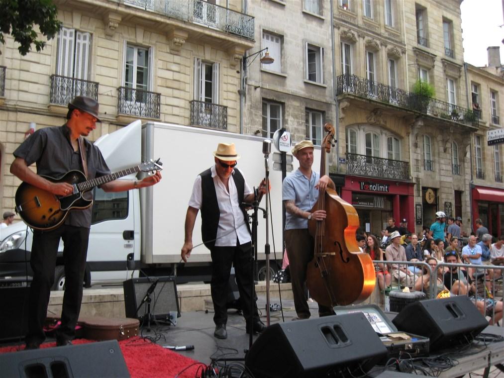 The Howling Blues Trio – Relache Festival, Bordeaux, 20 July 2016
