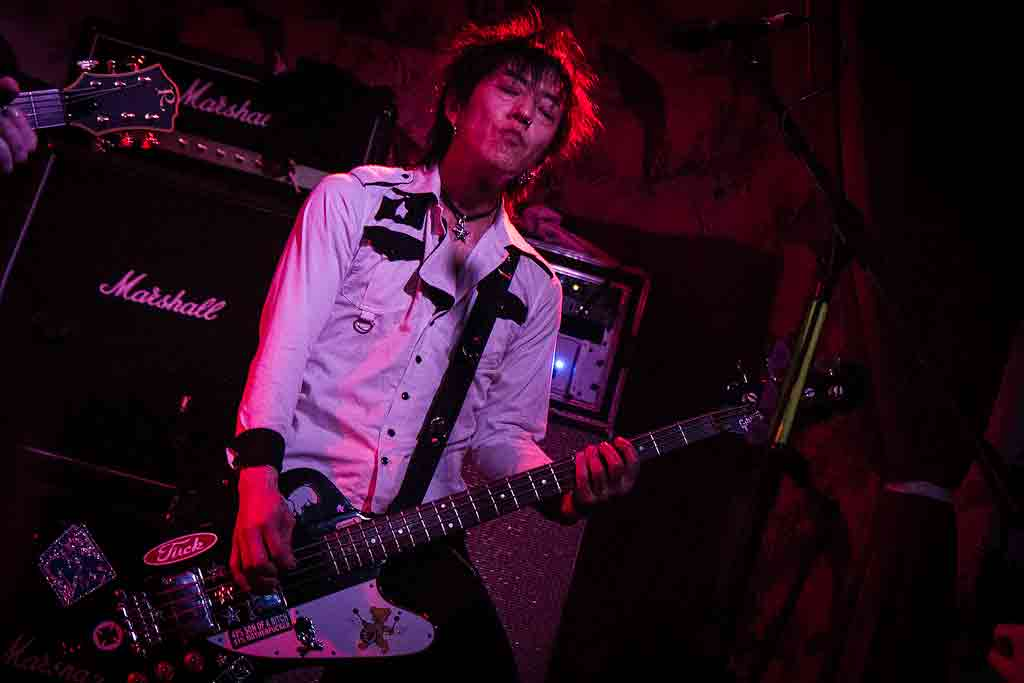 Ginger & The Wildhearts – Stereo, Glasgow, 15 July 2016