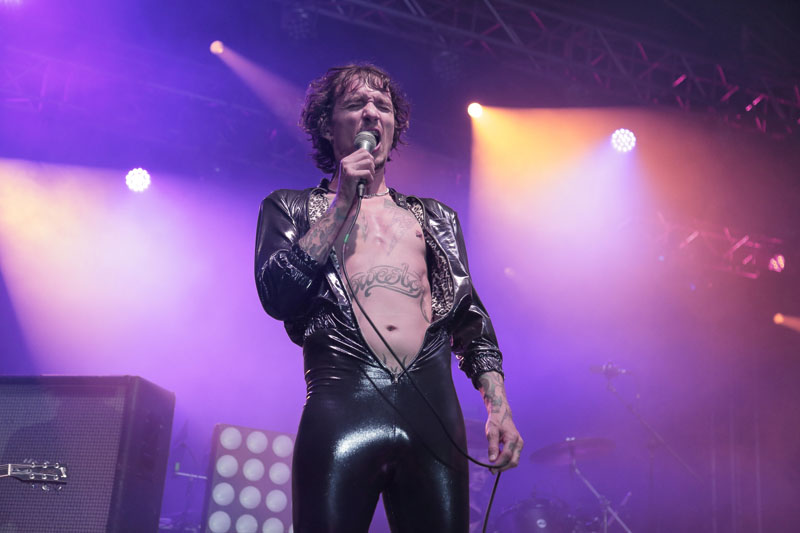 The Darkness - STEELHOUSE FESTIVAL - Ebbw Vale, South Wales, 24 July 2016