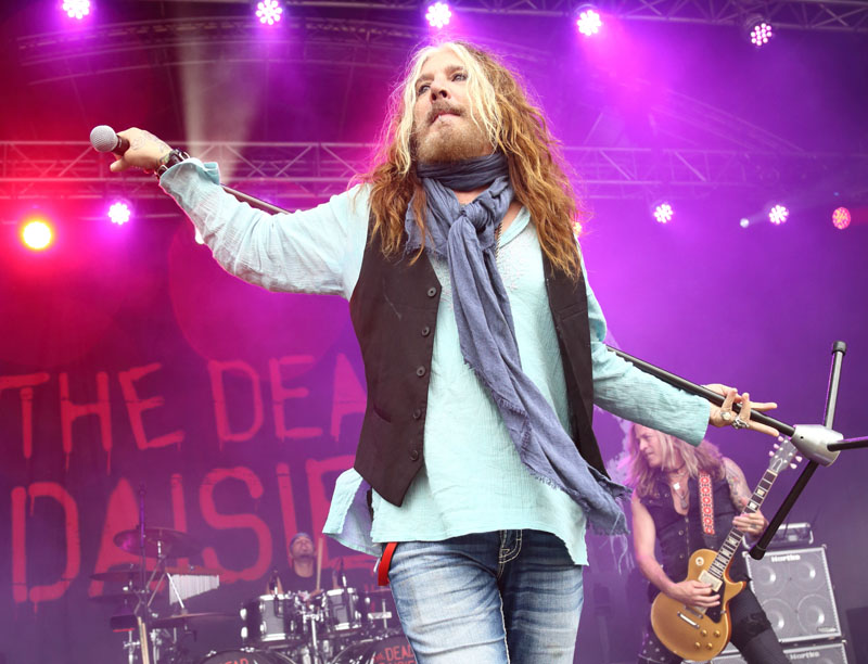 The Dead Daisies - STEELHOUSE FESTIVAL - Ebbw Vale, South Wales, 24 July 2016