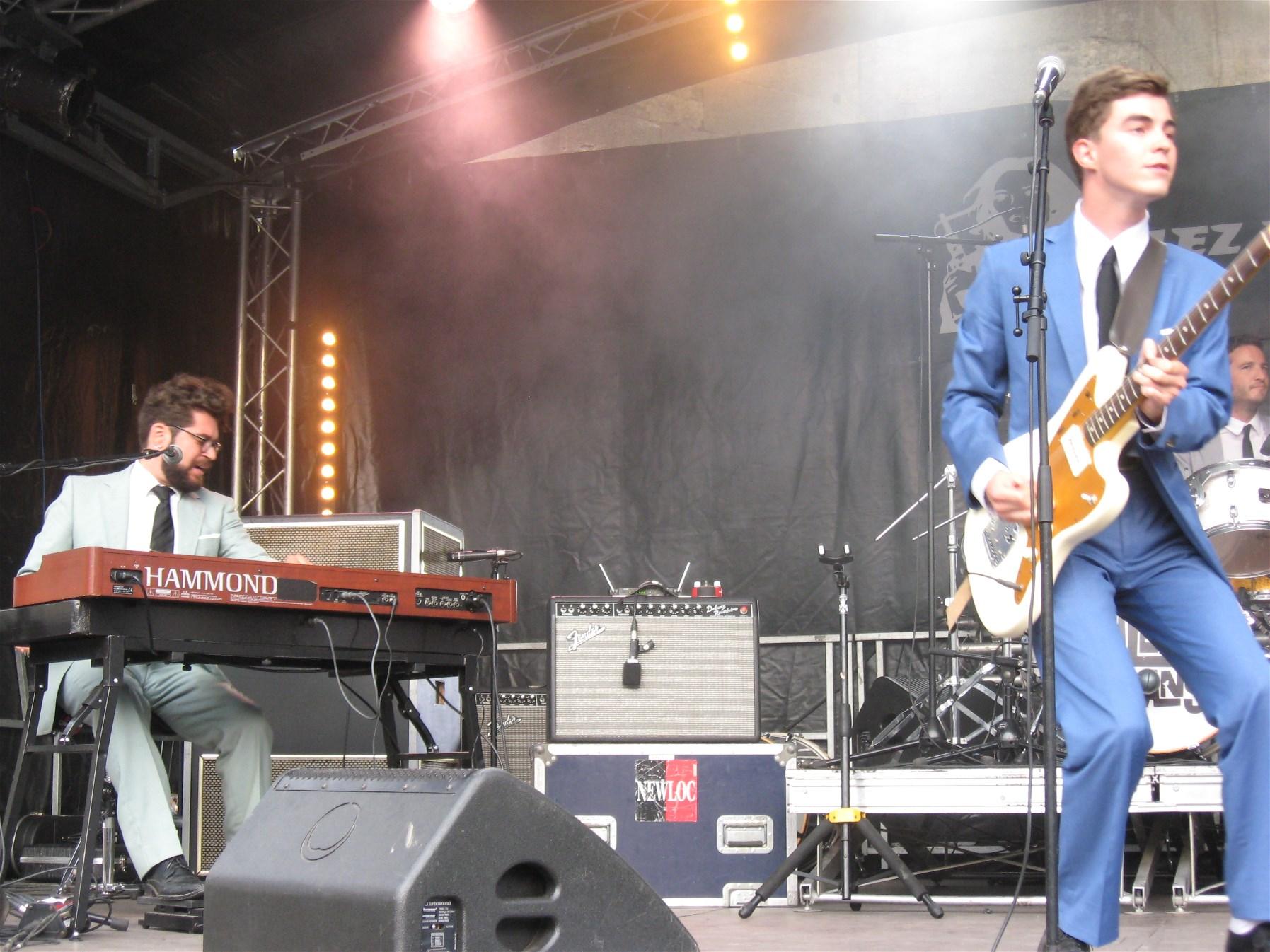 Alexis Evans Sextet – Relache Festival, Bordeaux, 17 August 2016