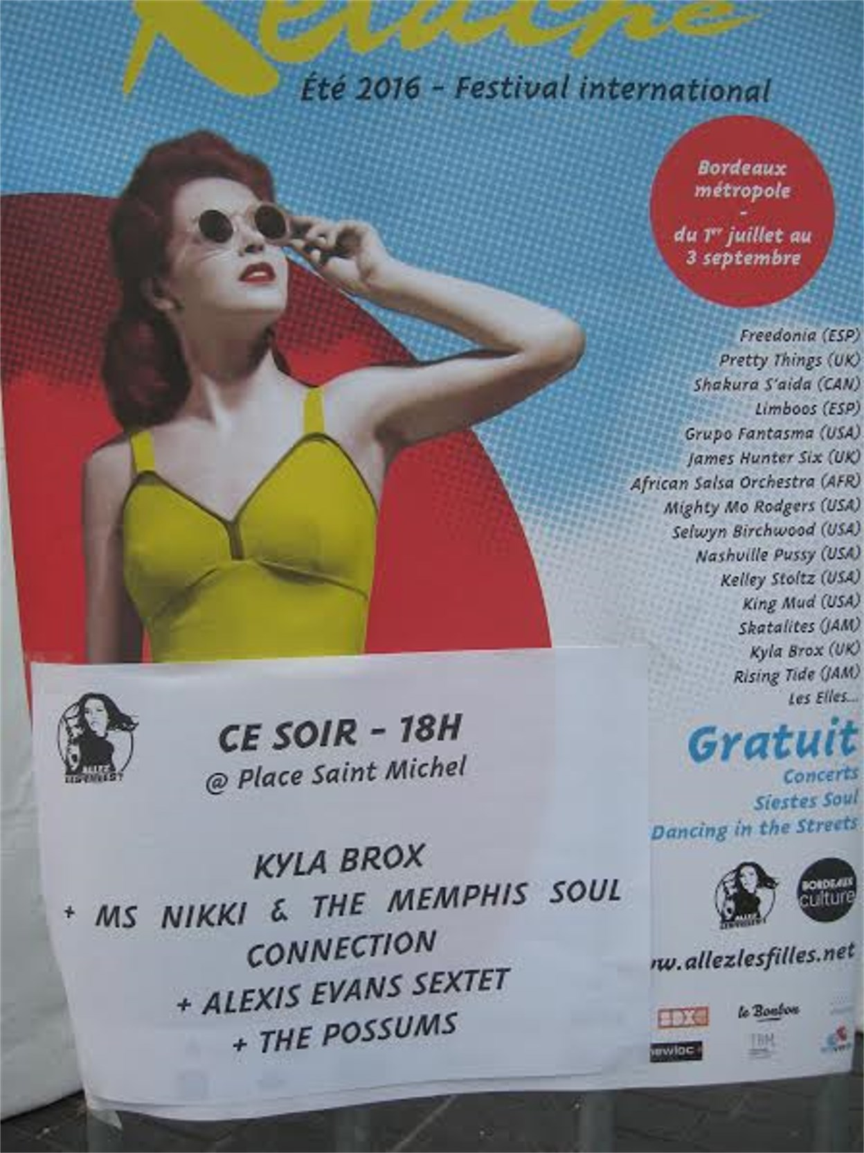 KYLA BROX – Relache Festival, Bordeaux, 17 August 2016