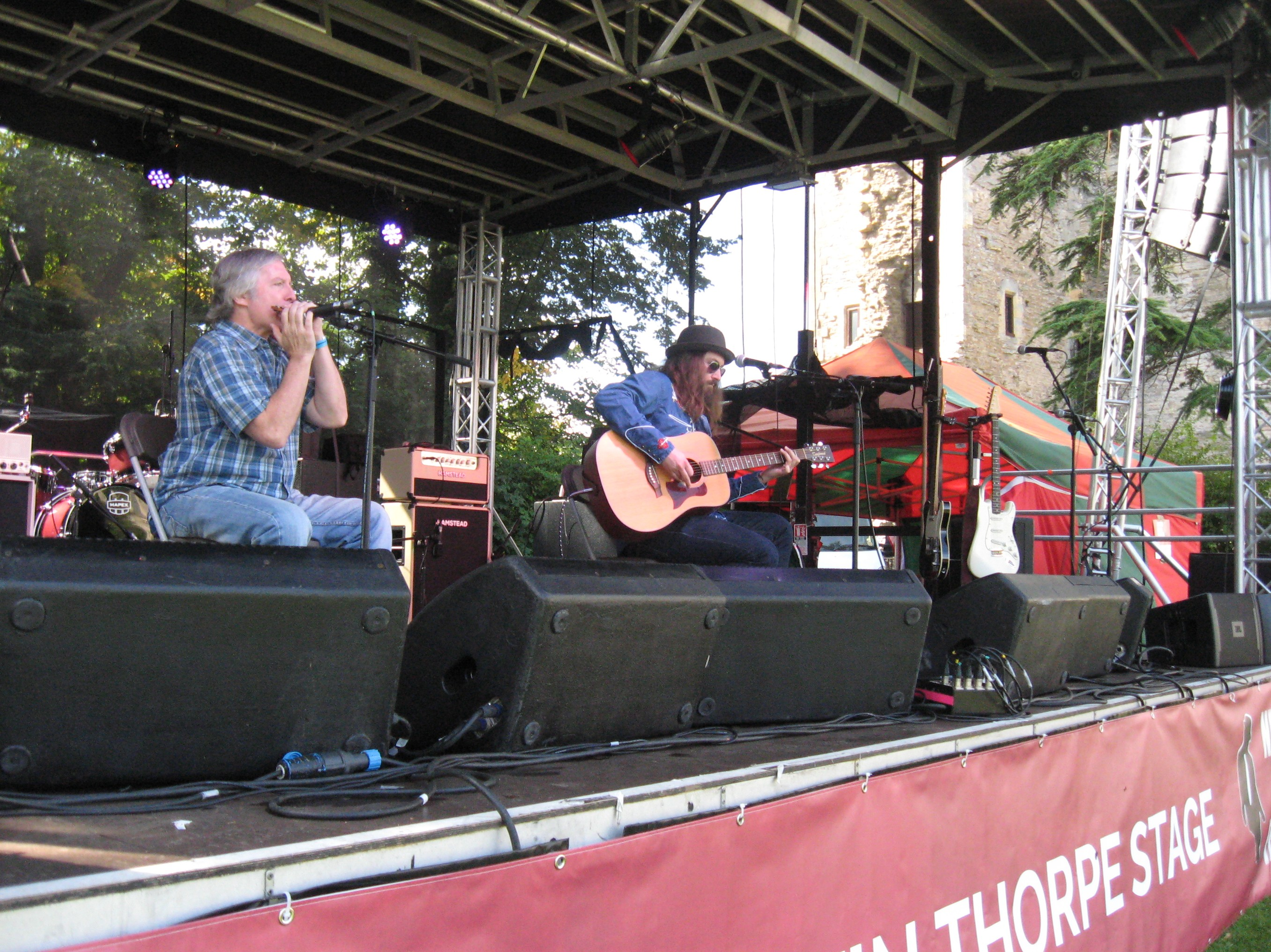 NEWARK BLUES FESTIVAL – Newark Castle, 11 September 2016