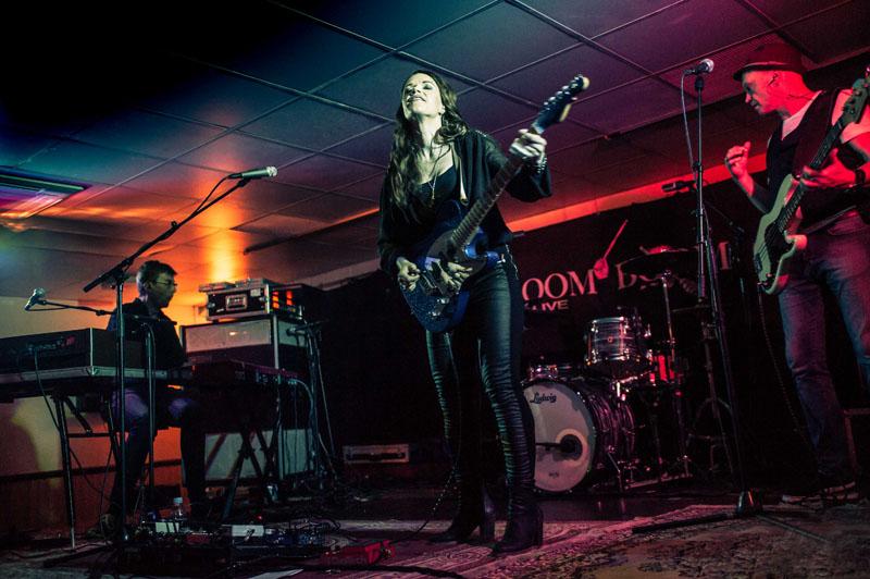ERJA LYYTINEN BAND – Boom Boom Club, Sutton,14 October 2016