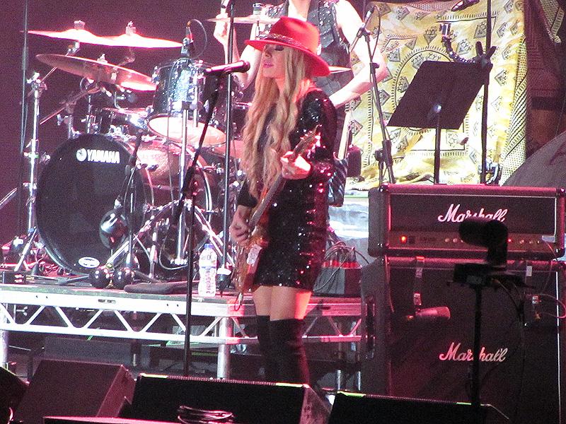 Orianthi - Manchester Arena, 24 October 2016