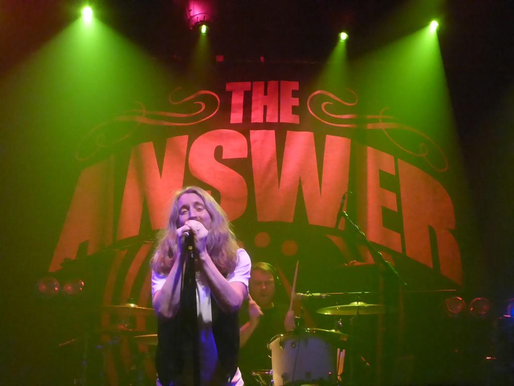 The Answer - Electric Ballroom, London, 23 November 2016