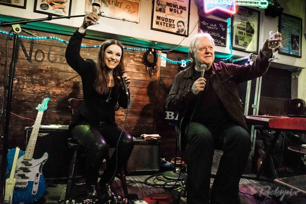 ERJA LYYTINEN  - Album Showcase,  Ain't Nothing But The Blues, London, 10 April 2017