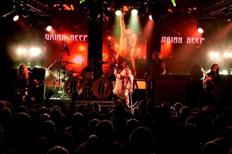 Uriah Heep - HRH PROG VI - Pwllheli, North Wales, 17-18 November 2017