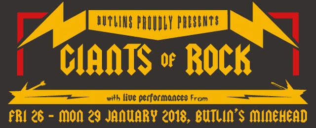 Butlins - Giants Of Rock