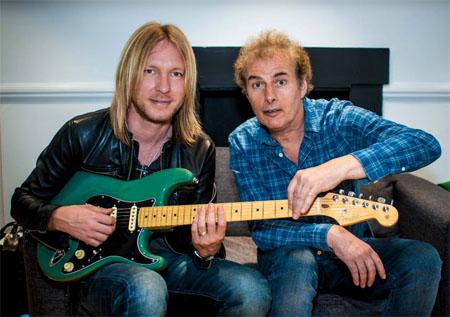 Kenny Wayne Shepherd and Pete Feenstra