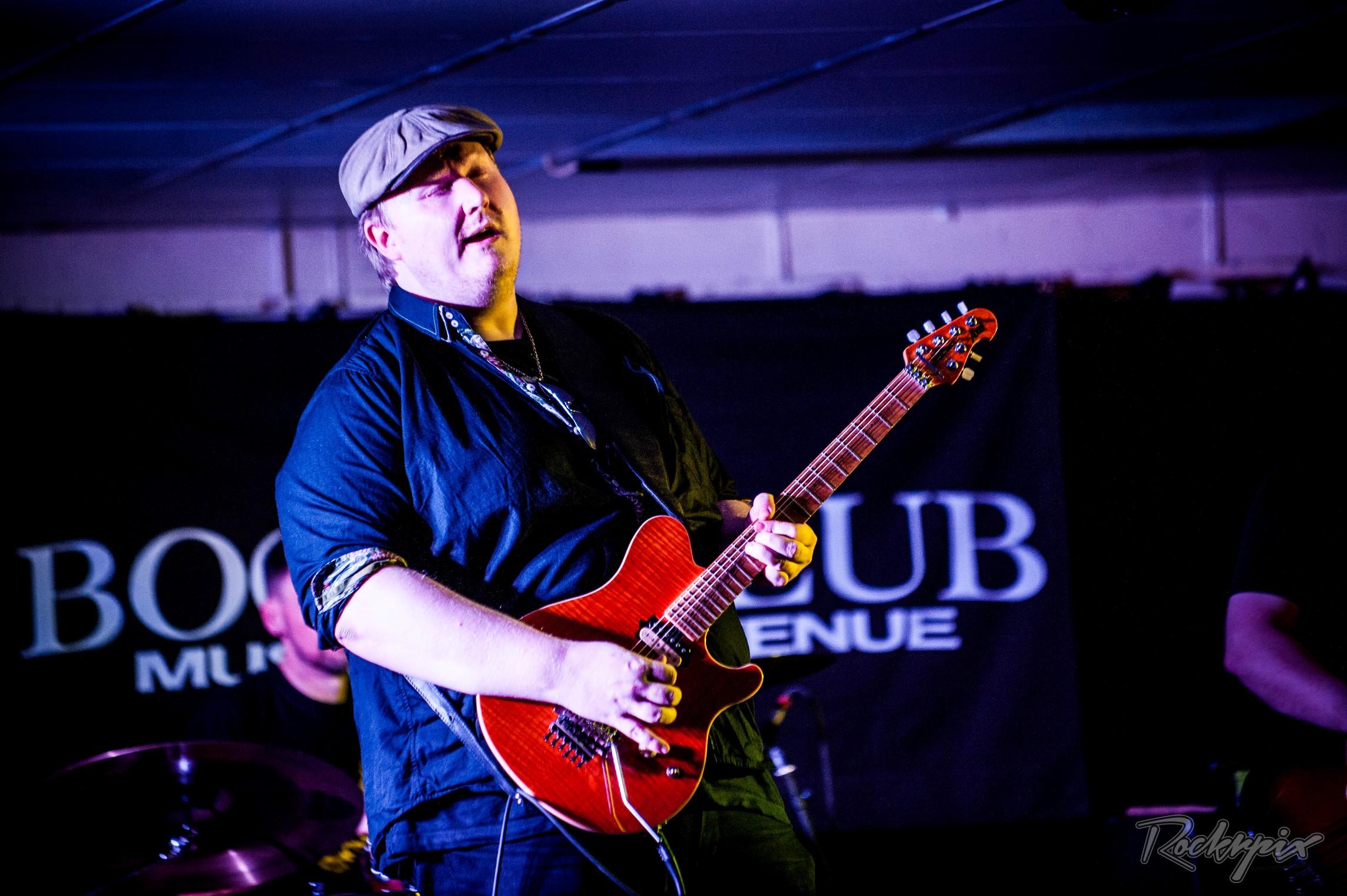 Danny Giles Band (DGB) – Boom Boom Club, Sutton, 23 February 2018