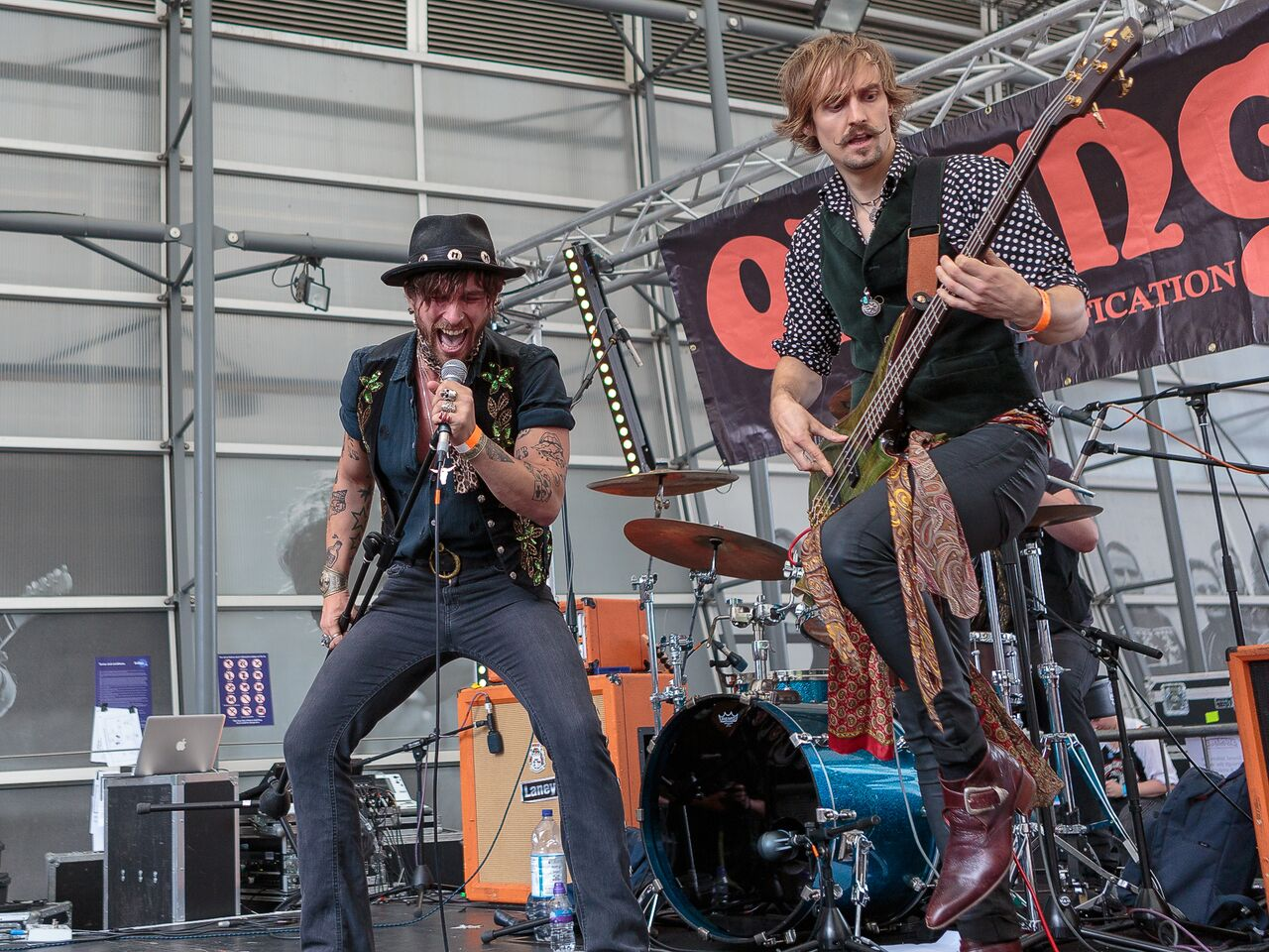 Dirty Thrills - STONE FREE FESTIVAL, O2, London, 16 June 2018
