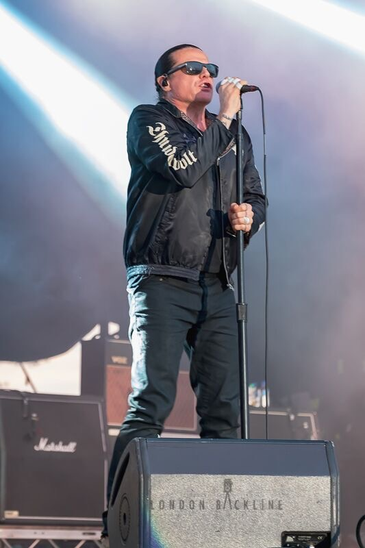 The Cult - RAMBLIN' MAN FAIR - Day 2, Mote Park, Maidstone, 1 July 2018