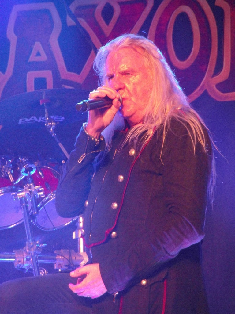 SAXON - Barrowlands, Glasgow,18 October 2018