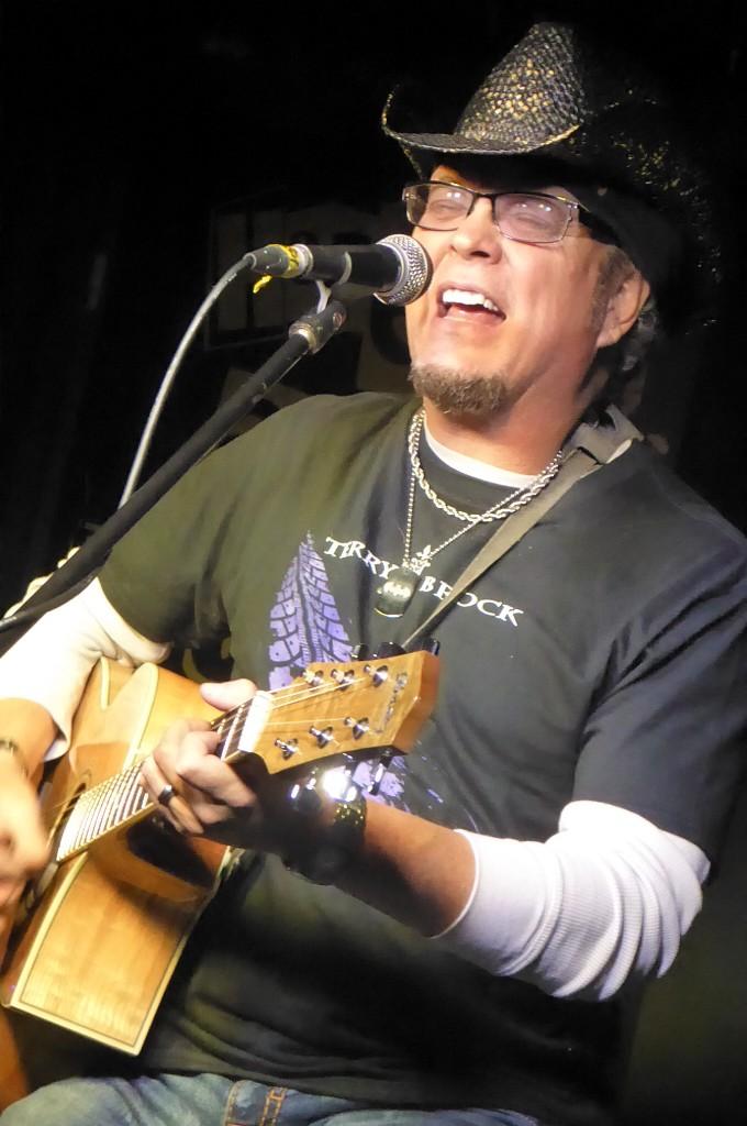 TERRY BROCK - Hope and Anchor, Islington, London, 22 November 2018
