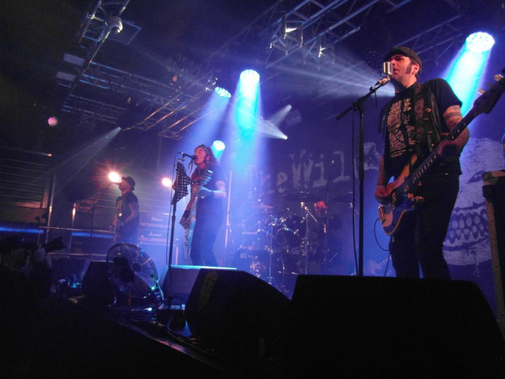 THE WILDHEARTS - Liquid Rooms, Edinburgh, 4 May 2019