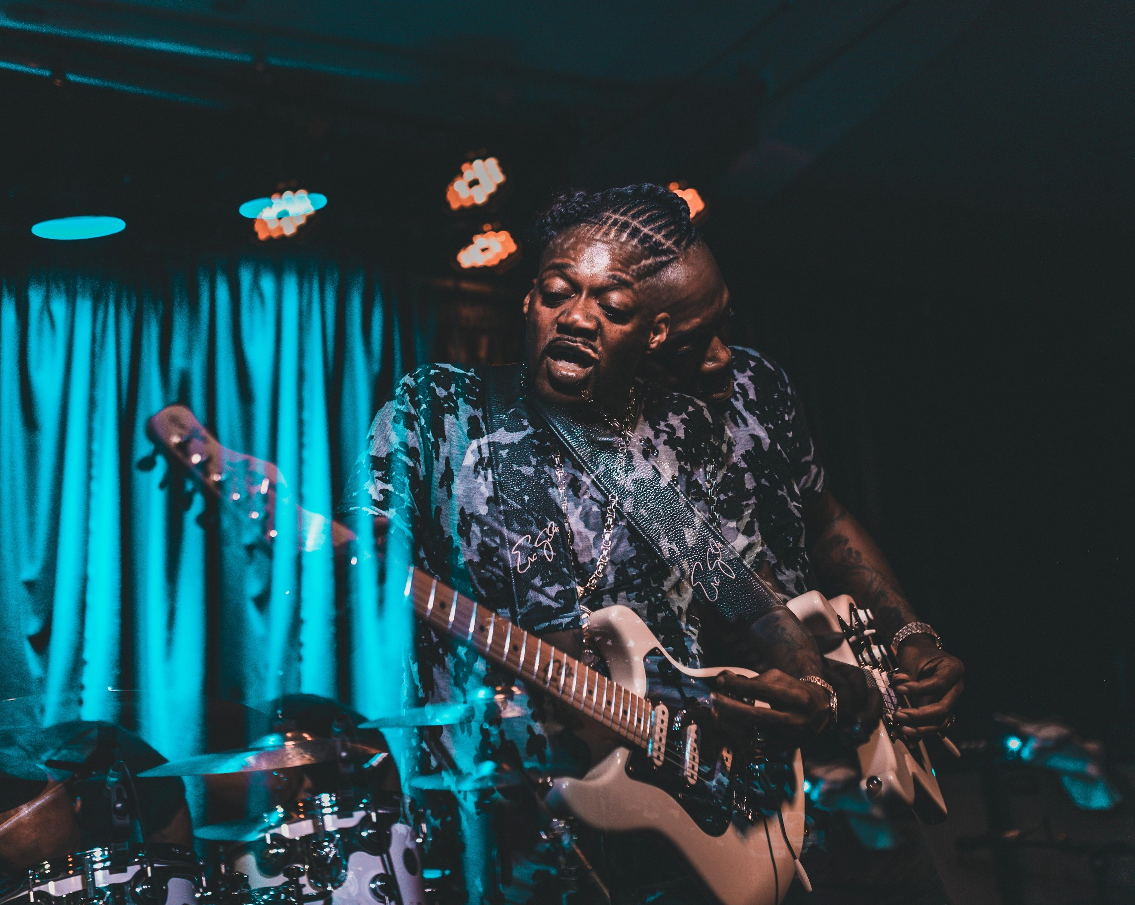 Eric Gales psychedelic by Ryan Swanich