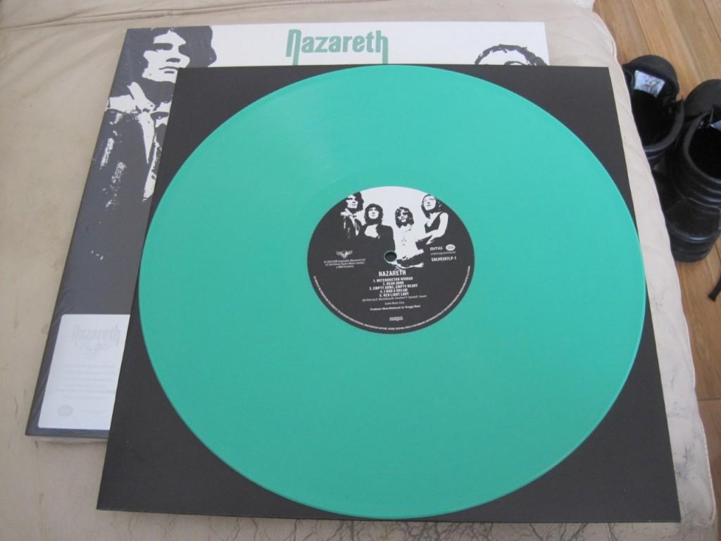 NAZARETH - coloured vinyl reissues July 2019