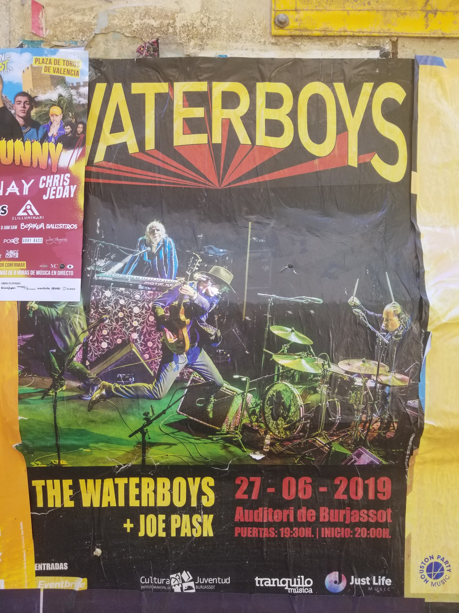 Gig review: THE WATERBOYS - Auditorio Burjassot, Valencia, Spain, 28 June 2019