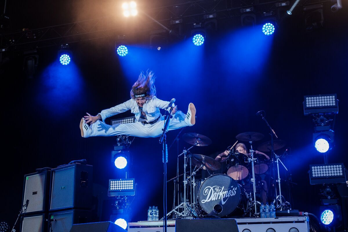 The Darkness - RAMBLIN' MAN FESTIVAL - Mote Park, Maidstone - Day 1 - 19 July 2019