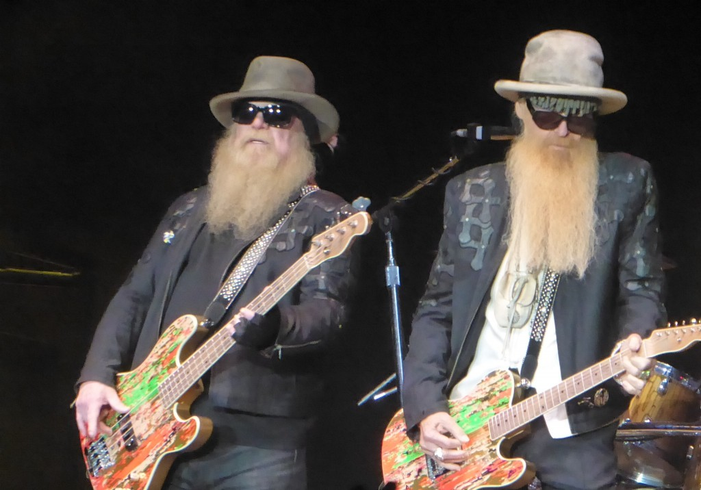 ZZ TOP, Jimmy Barnes- SSE Arena, Wembley, 12 July 2019