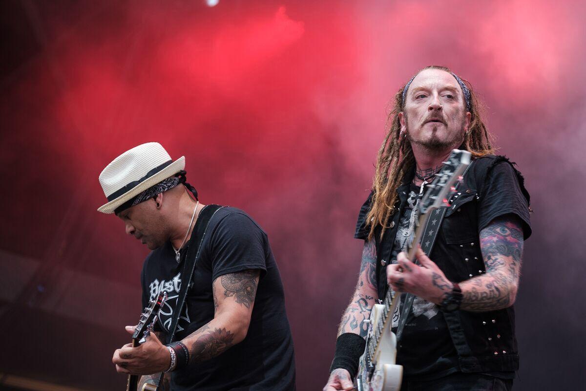 The Wildhearts - RAMBLIN' MAN FESTIVAL - Mote Park, Maidstone - Day 1 - 19 July 2019