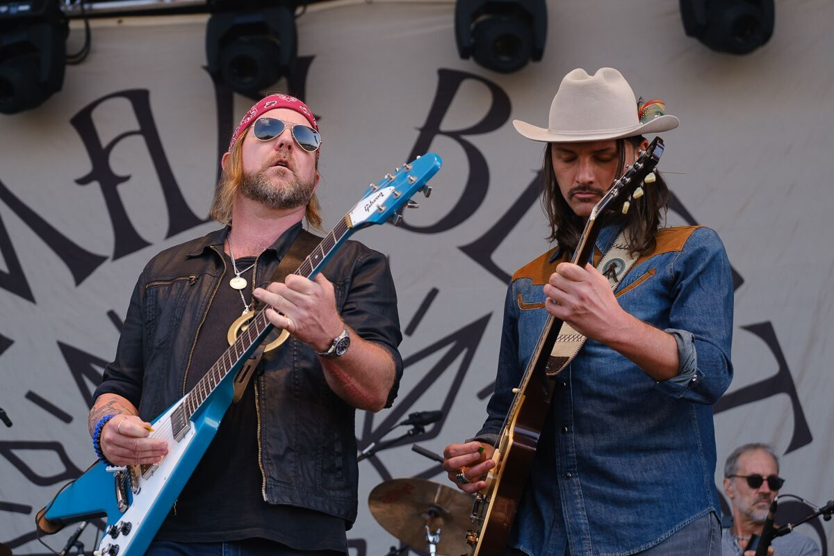 The Allman Betts Band - RAMBLIN' MAN FESTIVAL - Day 2 - Mote Park, Maidstone - 20 July 2019