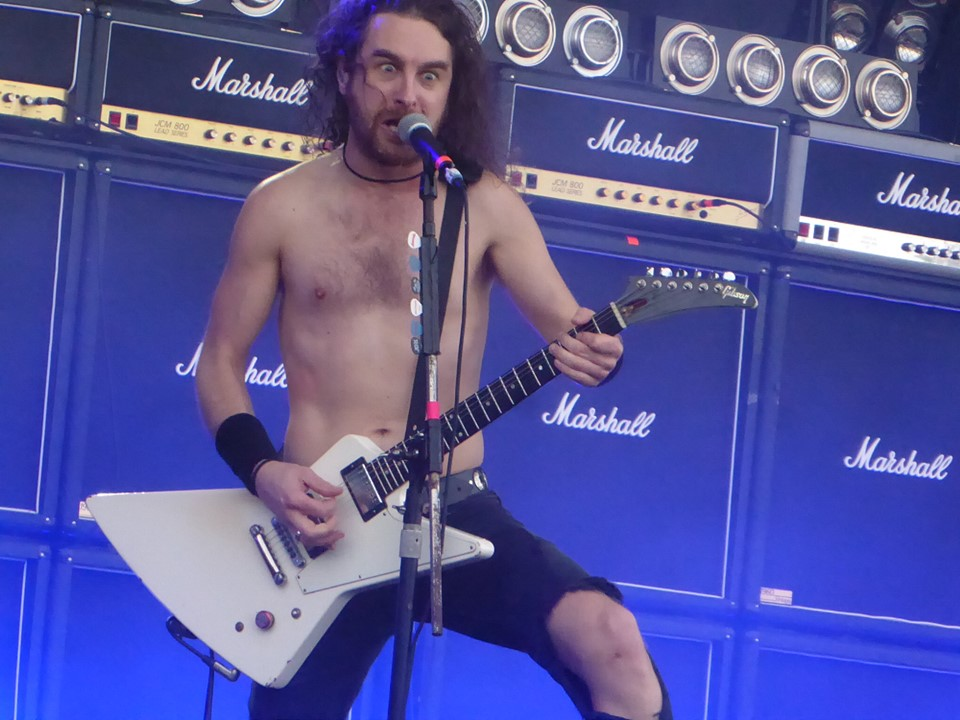Airbourne - RAMBLIN' MAN FESTIVAL - Day 3 - Mote Park, Maidstone - 21 July 2019
