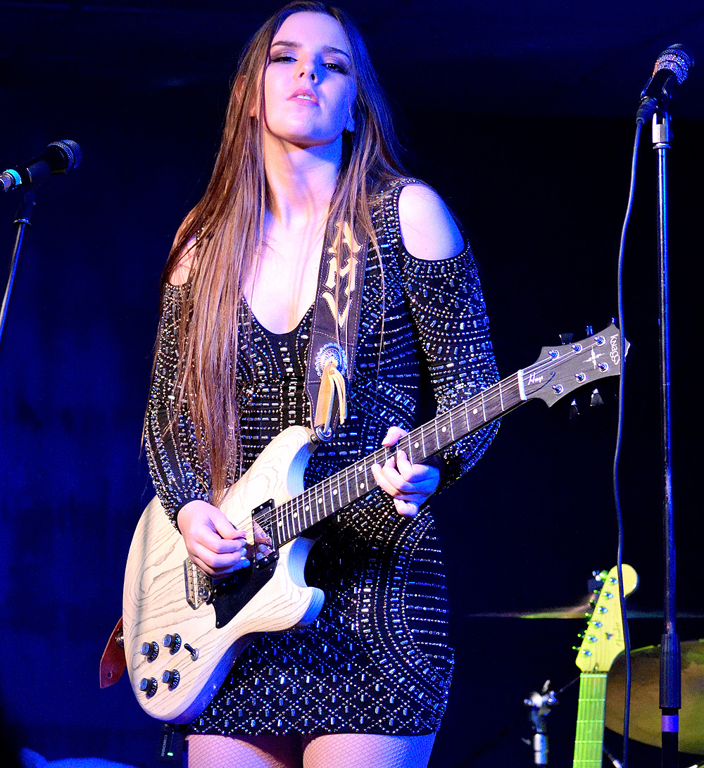 Ally Venable - BLUES CARAVAN 2019 - The Iron Road, Pershore, 13 September 2019