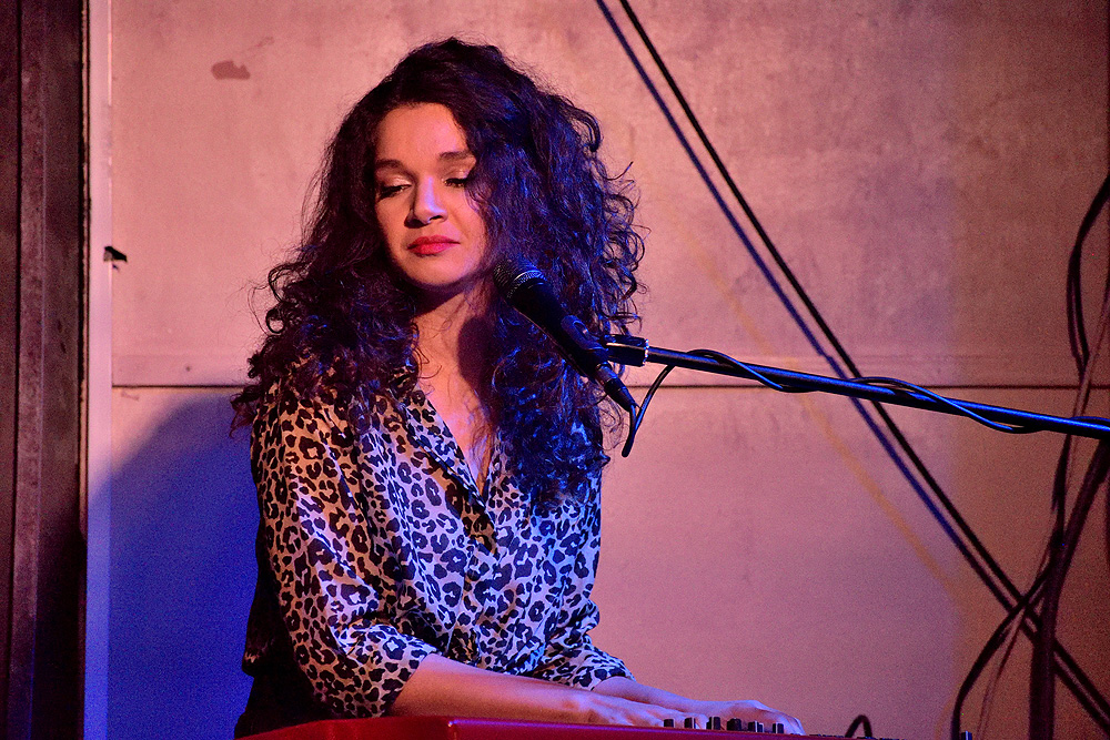 Katarina Pejak - BLUES CARAVAN 2019 - The Iron Road, Pershore, 13 September 2019