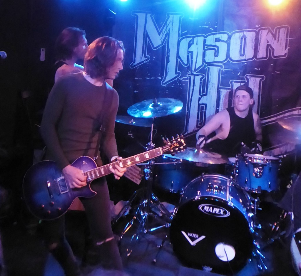 MASON HILL/Keylock/Cormac Neeson- The Black Heart, Camden, London- 5 November 2019