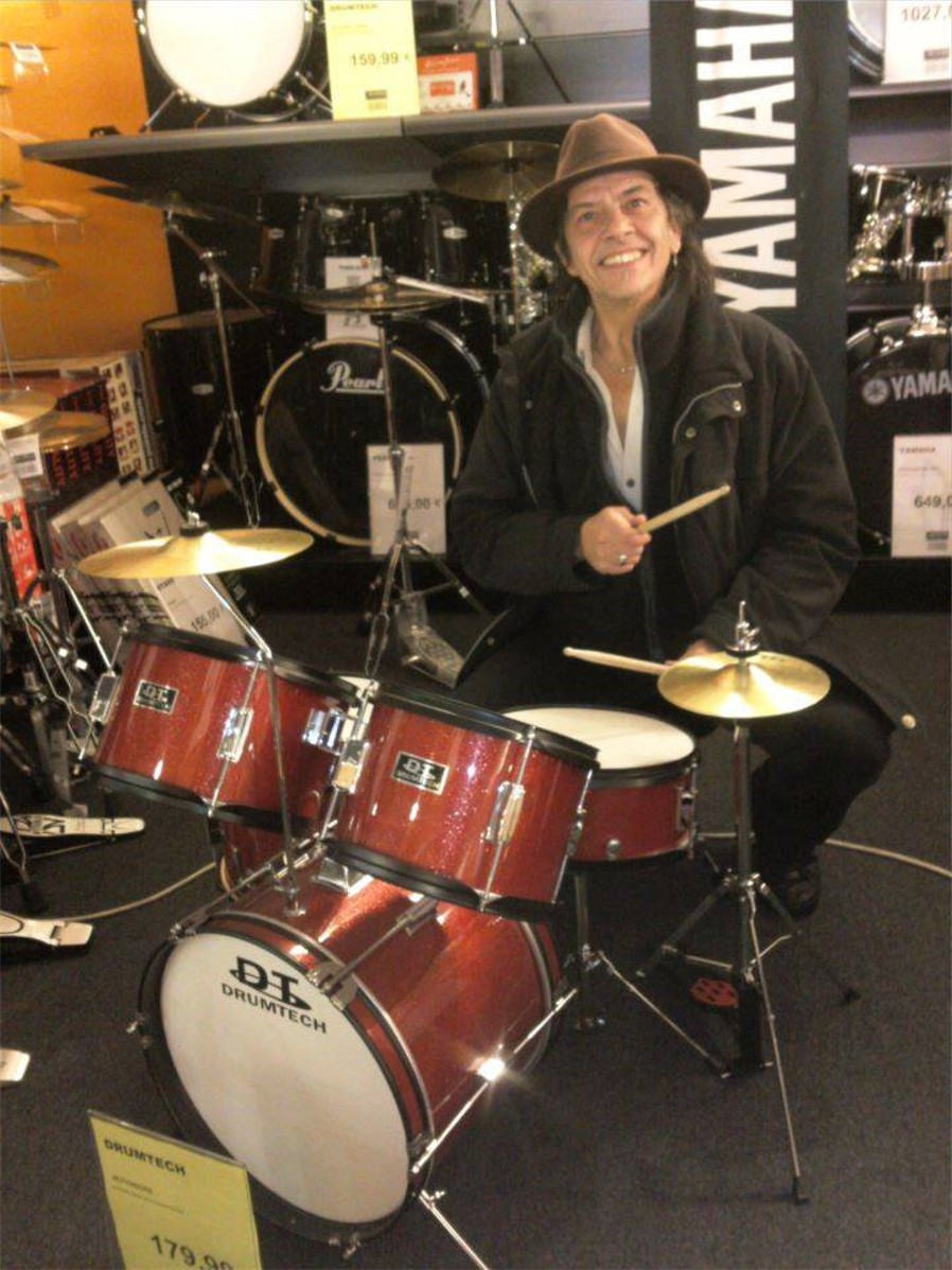 Jeff Gautier drummingHD