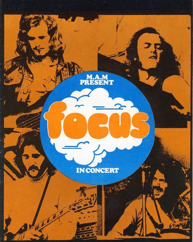 Focus tour programme, 1973