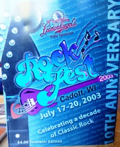 Gigs of the Millennium- ROCK FEST 2003, Wisconsin, USA