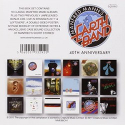 MANFRED MANN'S EARTH BAND - 40th Anniversary Box Set