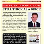 REFLECTION CLUB - Still Thick As A Brick