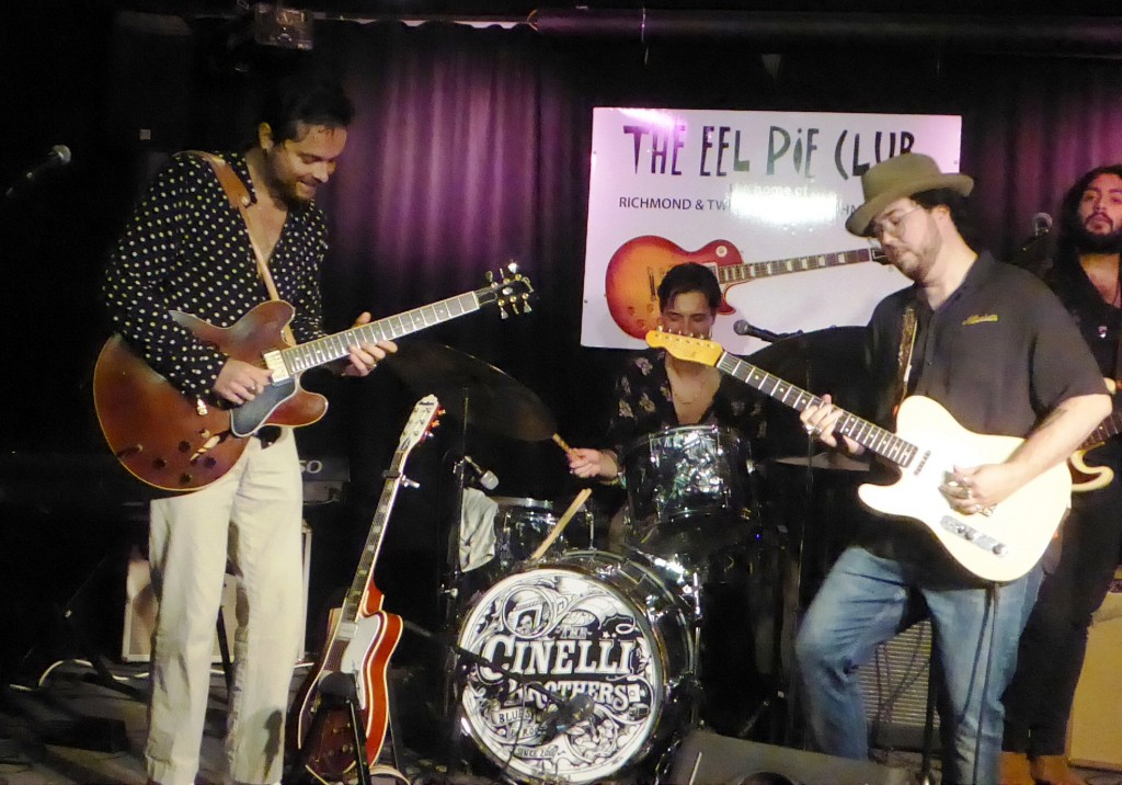 THE CINELLI BROTHERS- Cabbage Patch, Twickenham, 16 September 2021