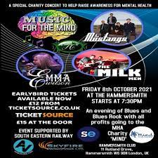 MUSIC FOR THE MIND- Hammersmith Club, London, 8 October 2021