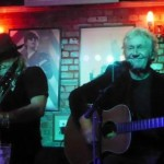 ROBERT HART AND DAVE 'BUCKET' COLWELL- The Cavern, Raynes Park, London, 14 October 2021
